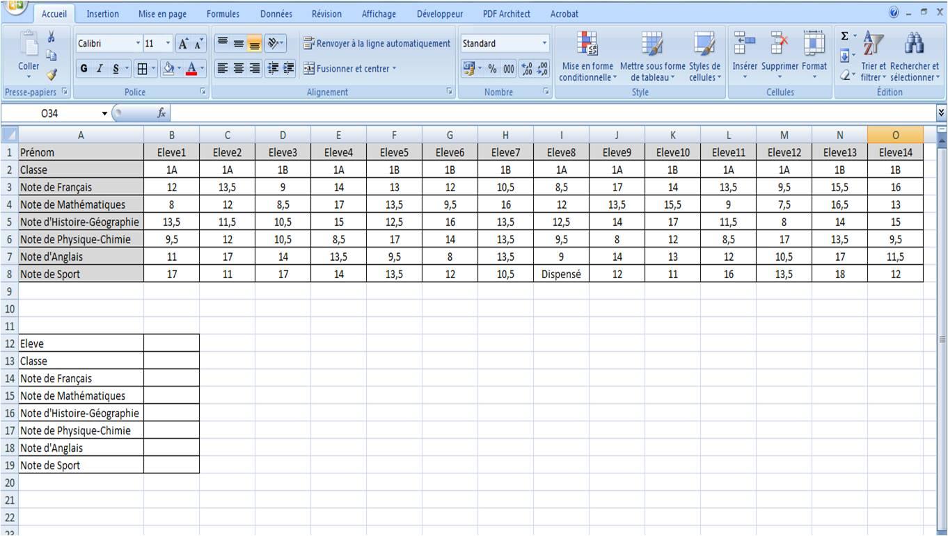 La Rechercheh Cours D Excel Et Astuces En Ligne